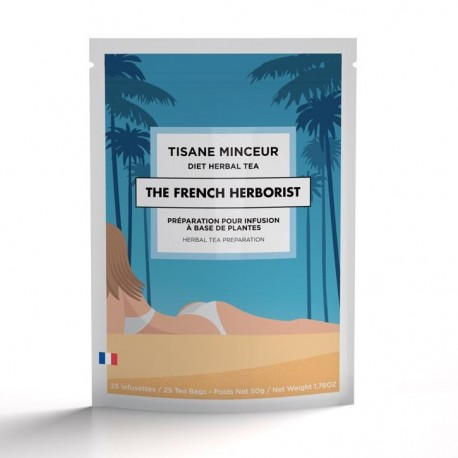 Tisane Minceur The French Herborist - Cure 12 jours