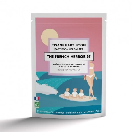 Tisane Baby Boom The French Herborist - Cure 1 mois